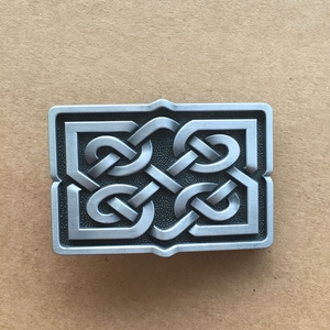 Celtic Knot Vintage Metal Riem Buckle/Gesp