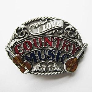 Western Country Music Riem Gesp/Buckle