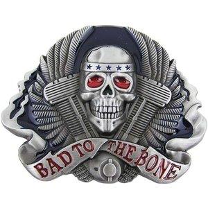 Schedel Bad to the Bone Riem Buckle/Gesp
