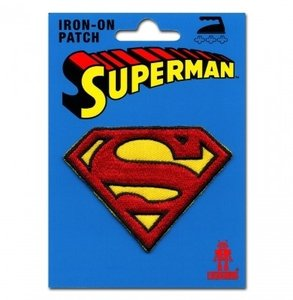 Superman Marvel DC Comics Logo Patch