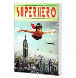 Superhero Girl Notitieblok