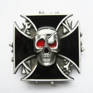 Iron Cross - Schedel - Riem Buckle/Gesp