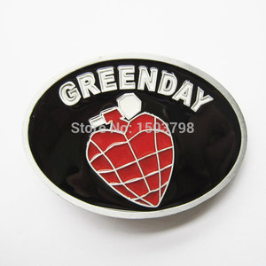 Green Day - Punk Rock Band - Riem Buckle/Gesp