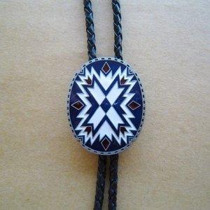 American Southwest Pattern - Bolo Tie Halsketting