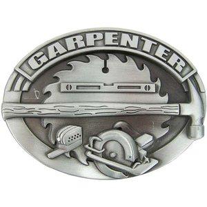 Timmerman Carpenter Metal Embleem Riem Buckle/Gesp