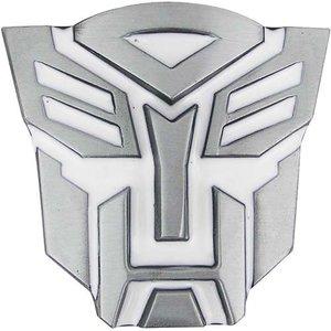 Transformers Autobots 3D Logo Wit Riem Buckle/Gesp