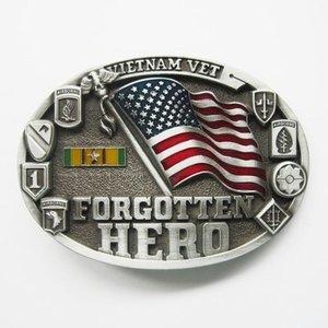 Vietnam Veteraan Forgotten Hero Riem Buckle/Gesp
