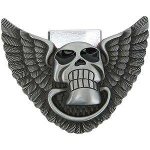 Aansteker Skull & Wings Riem Buckle/Gesp