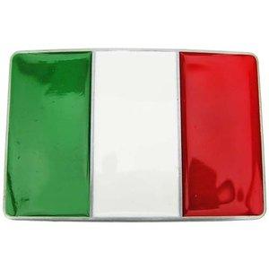 Italiaanse Vlag Riem Buckle/Gesp