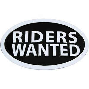 Riders Wanted Chroom Ovale Riem Buckle/Gesp