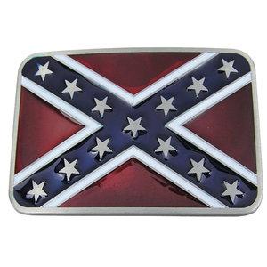 Dukes of Hazzard Confederate Vlag Riem Buckle/Gesp