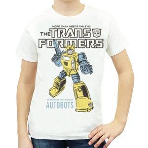 Transformers - Bumblebee Autobots - Wit Kinder T-shirt