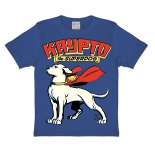 Superdog - Krypto - Blauw Kinder T-shirt