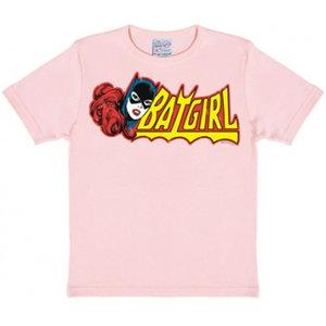 Batgirl Logo DC Comics Kinder T-shirt roze