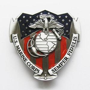 Marine US Corps Semper Fidelis Riem Gesp/Buckle
