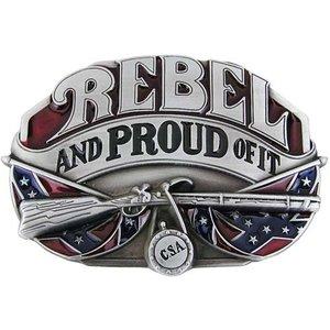 Rebel And Proud Of It Riem Buckle/Gesp