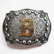 Letter B Initiaal Riem Buckle/Gesp