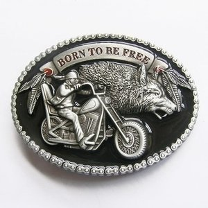 Born To Be Free Motor Riem Buckle/Gesp