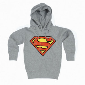 Superman Vintage Logo Sweater grijs