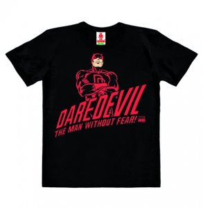 Daredevel - Man Without Fear - Marvel - Zwart - Kinder T-shirt