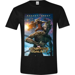 Guardians of the Galaxy - Zwart Heren T-shirt