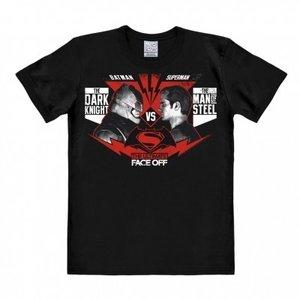 Batman - The Ultimate Face Off - Zwart Heren easy-fit T-shirt