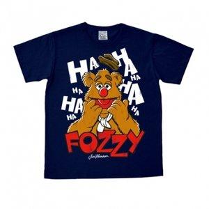 De Muppets - Fozzy - Heren Navy easy-fit T-shirt
