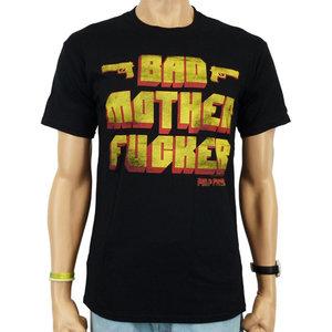 Pulp Fiction Bad Mother Fucker Zwart Heren T-shirt