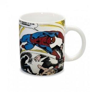 Spiderman - Fighting - Marvel Koffie Mok