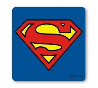 Superman Logo DC Comics onderzetter