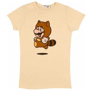 Nintendo - Super Mario - Tanooki Suit - Dames T-shirt