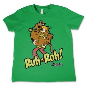 Scooby Doo - Ruh-Ruh - Groen Kinder T-shirt