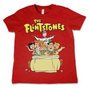 The Flintstones - Family - Rood Kinder T-shirt