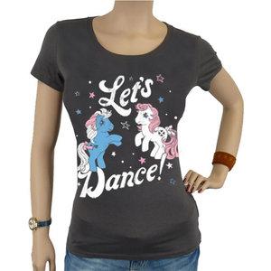 My Little Pony Let's Dance Dames Grijs T-shirt