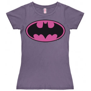 Batman - DC Comics - Dames Paars T-shirt