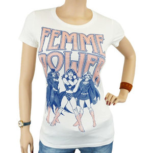 Femme Power - DC Comics - Dames Wit T-shirt