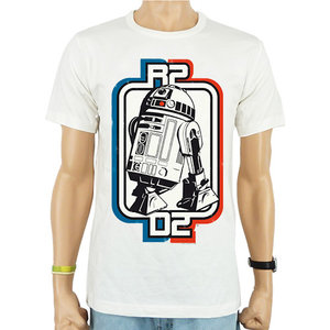 Star Wars R2-D2 Retro Heren easy-fit T-shirt