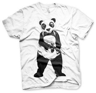 Suicide Squad - Panda - Wit Heren T-shirt