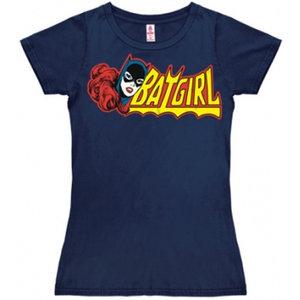 Batgirl Marvel DC Comics Dames Blauw T-shirt
