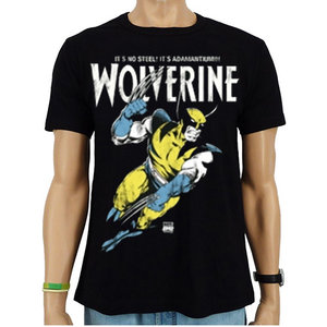 Wolverine Adamantium X-Men Marvel Heren easy-fit T-shirt