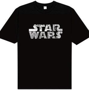 Star Wars Logo Heren easy-fit T-shirt