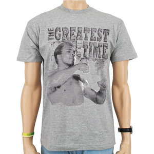 Muhammad Ali The Greatest of All Time Heren Grijs T-shirt