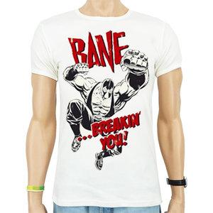 Batman - Bane Breakin You - Wit Heren slim-fit T-shirt