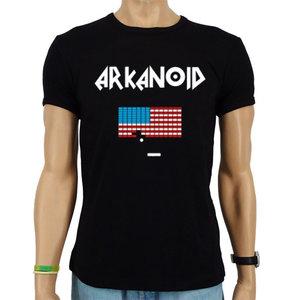 Arkanoid - Videogame - Zwart Heren slim-fit T-shirt