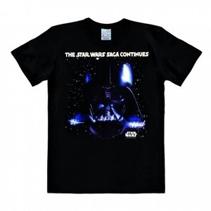 Star Wars - The Saga Continues - Heren Zwart easy-fit T-shirt