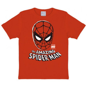Spiderman - Masker - DC Comics - Rood Kinder T-shirt
