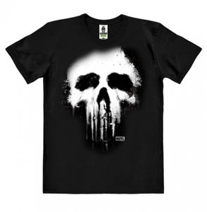 The Punisher-  Skull - Marvel Zwart Heren easy-fit T-shirt