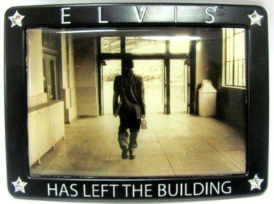 Elvis Has Left The Building - Riem Buckle/Gesp