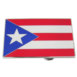 Porto Rico Vlag Riem Buckle/Gesp