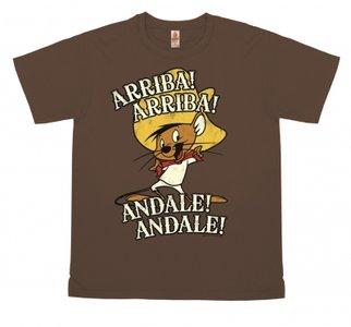 Looney Tunes - Arriba! Andale!-  Vintage Bruin Heren T-shirt